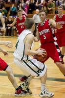 7676 Boys Varsity Basketball v Crosspoint 120112