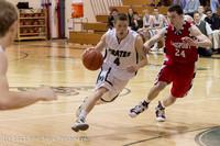 7696 Boys Varsity Basketball v Crosspoint 120112