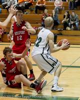7746 Boys Varsity Basketball v Crosspoint 120112