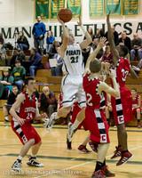 7889 Boys Varsity Basketball v Crosspoint 120112