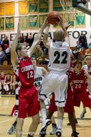 7911 Boys Varsity Basketball v Crosspoint 120112