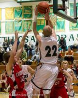 7912 Boys Varsity Basketball v Crosspoint 120112