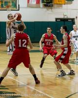 7954 Boys Varsity Basketball v Crosspoint 120112