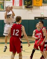 7957 Boys Varsity Basketball v Crosspoint 120112