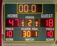 7976 Boys Varsity Basketball v Crosspoint 120112