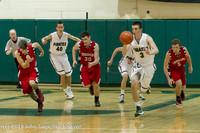 8004 Boys Varsity Basketball v Crosspoint 120112