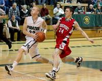 8013 Boys Varsity Basketball v Crosspoint 120112