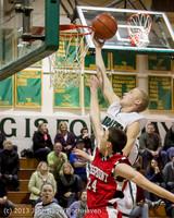 8018 Boys Varsity Basketball v Crosspoint 120112