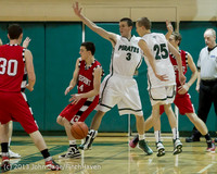 8079 Boys Varsity Basketball v Crosspoint 120112
