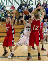 8091 Boys Varsity Basketball v Crosspoint 120112