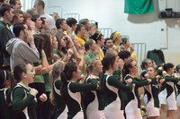 5771 Cheer and Crowd at BBall v Port Townsend 120410