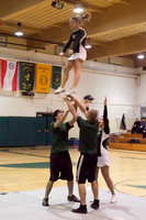 5894 Cheer and Crowd at BBall v Port Townsend 120410