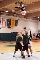 5896 Cheer and Crowd at BBall v Port Townsend 120410