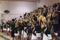6157 Cheer and Crowd at BBall v Port Townsend 120410