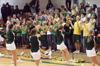 6449 Cheer and Crowd at BBall v Port Townsend 120410