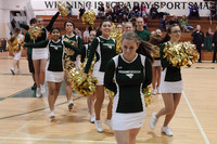6741 Cheer and Crowd at BBall v Port Townsend 120410