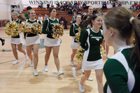 6742 Cheer and Crowd at BBall v Port Townsend 120410