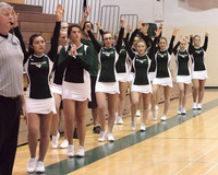 6744 Cheer and Crowd at BBall v Port Townsend 120410