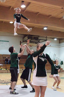 6779 Cheer and Crowd at BBall v Port Townsend 120410