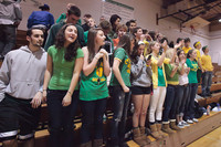 6786 Cheer and Crowd at BBall v Port Townsend 120410