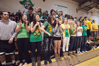 6788 Cheer and Crowd at BBall v Port Townsend 120410