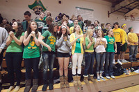 6790 Cheer and Crowd at BBall v Port Townsend 120410
