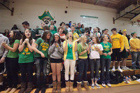 6791 Cheer and Crowd at BBall v Port Townsend 120410