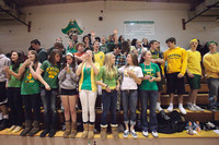 6793 Cheer and Crowd at BBall v Port Townsend 120410