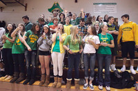 6794 Cheer and Crowd at BBall v Port Townsend 120410