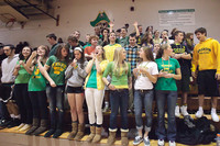 6795 Cheer and Crowd at BBall v Port Townsend 120410