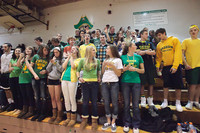 6796 Cheer and Crowd at BBall v Port Townsend 120410