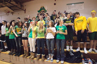 6797 Cheer and Crowd at BBall v Port Townsend 120410
