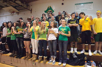 6798 Cheer and Crowd at BBall v Port Townsend 120410