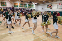 6809 Cheer and Crowd at BBall v Port Townsend 120410