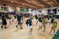 6810 Cheer and Crowd at BBall v Port Townsend 120410