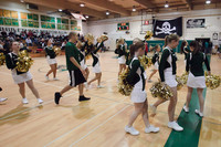 6811 Cheer and Crowd at BBall v Port Townsend 120410