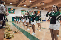 6827 Cheer and Crowd at BBall v Port Townsend 120410
