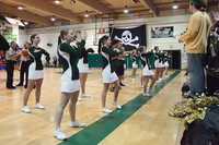 6841 Cheer and Crowd at BBall v Port Townsend 120410