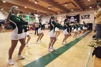 6847 Cheer and Crowd at BBall v Port Townsend 120410