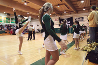 6853 Cheer and Crowd at BBall v Port Townsend 120410
