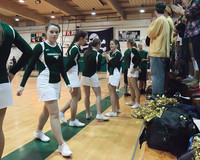 6854 Cheer and Crowd at BBall v Port Townsend 120410