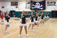 6856 Cheer and Crowd at BBall v Port Townsend 120410