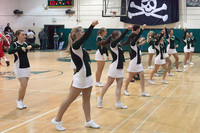 6857 Cheer and Crowd at BBall v Port Townsend 120410