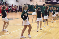 6861 Cheer and Crowd at BBall v Port Townsend 120410