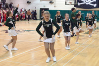 6863 Cheer and Crowd at BBall v Port Townsend 120410