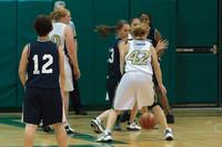 1805 Girls JV Basketball v NWChr 122010