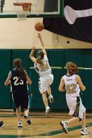 1845 Girls JV Basketball v NWChr 122010