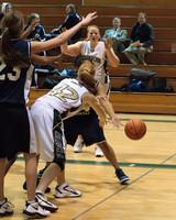 2092 Girls JV Basketball v NWChr 122010