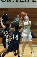 2095 Girls JV Basketball v NWChr 122010