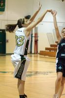 2119 Girls JV Basketball v NWChr 122010